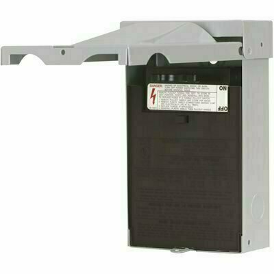 EATON 60 AMP 120/240-VOLT 14,400-WATT NON-FUSED AIR CONDITIONING DISCONNECT