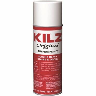 KILZ ORIGINAL 13 OZ. WHITE OIL-BASED INTERIOR PRIMER SPRAY, SEALER, AND STAIN BLOCKER