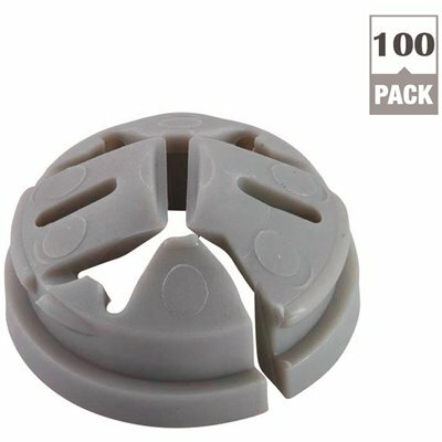 HALEX 3/8 IN. - 1/2 IN. KNOCKOUT NON-METALLIC PUSH-IN CONNECTOR (100-PACK)