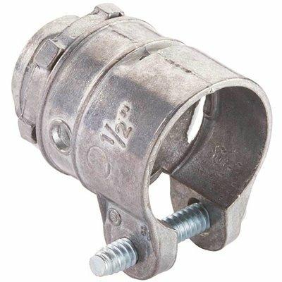 HALEX 1/2 IN. FLEXIBLE METAL CONDUIT (FMC) SQUEEZE CONNECTOR (3-PACK)