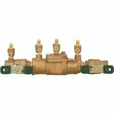 WATTS 3/4 IN. BRONZE FPT X FPT DOUBLE CHECK VALVE ASSEMBLY BACKFLOW PREVENTER