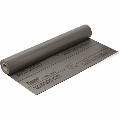 OATEY 5 FT. X 40 FT. PVC SHOWER PAN LINER ROLL IN GRAY