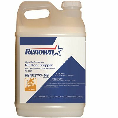 RENOWN 2.5 GAL. HIGH PERFORMANCE NON RINSE FLOOR STRIPPER