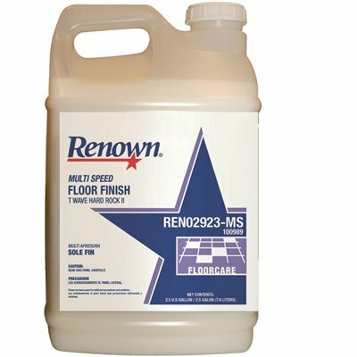 RENOWN 2.5 GAL. MULTI SPEED FLOOR FINISH