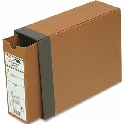 CARDINAL BRANDS INC. RECYCLED FIBERBOARD BINDING CASE, 11 X 8-1/2, 2-1/2 IN. CAPACITY, KRAFT