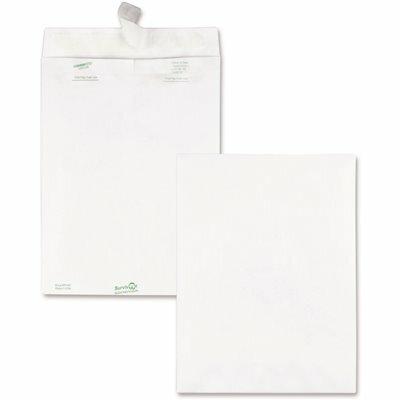 QUALITY PARK 9 IN. X 12 IN. TYVEK MAILER SIDE SEAM, WHITE (100-BOX)