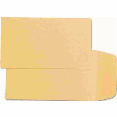 QUALITY PARK #1 KRAFT COIN AND SMALL PARTS ENVELOPE SIDE SEAM, LIGHT BROWN (500/BOX)