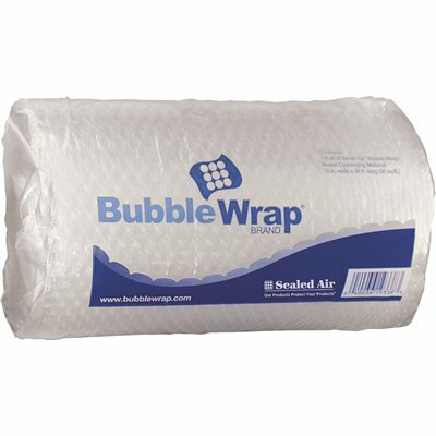 SEALED AIR 1/2 IN. THICK, 12 IN. X 30 FT. BUBBLE WRAP CUSHIONING MATERIAL