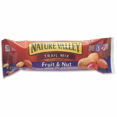 NATURE VALLEY 1.2 OZ. MIX CEREAL CHEWY TRAIL GRANOLA BARS (16 BARS/BOX)