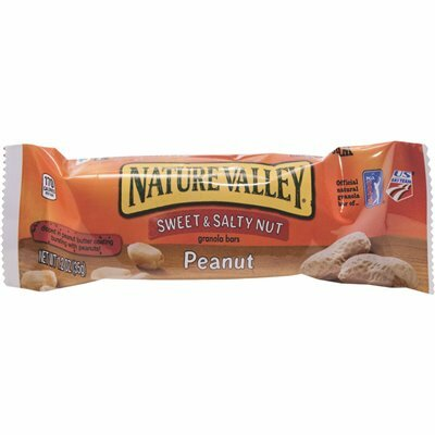 NATURE VALLEY 1.2 OZ. BAR SWEET AND SALTY NUT PEANUT CEREAL GRANOLA BARS (16/BOX)