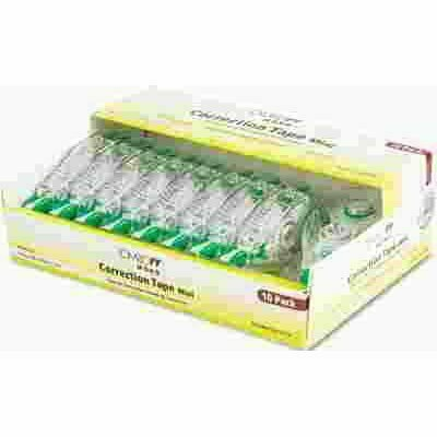 1/6 IN. X 236 IN. MONO MINI CORRECTION TAPE, NON-REFILLABLE (10-PACK)