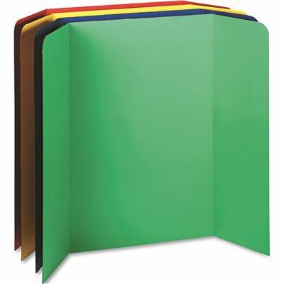 PACON CORPORATION SPOTLIGHT CORRUGATED PRESENTATION DISPLAY BOARDS, 48 X 36, ASSORTED, 4/CARTON