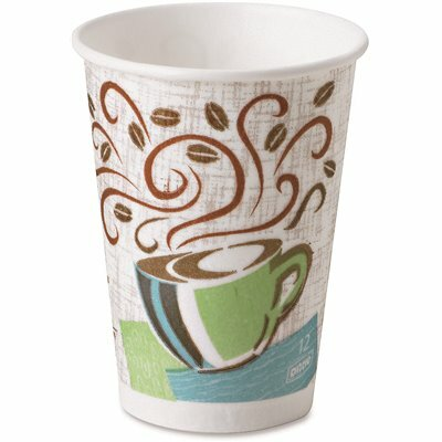 PERFECTOUCH 12 OZ. COFFEE HAZE INSULATED PAPER HOT CUP WITH FITS LARGE LIDS (20 SLEEVES PER CASE, 50 CUPS PER SLEEVE)