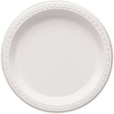 TABLEMATE PARTY EXPRESSIONS PLASTIC PLATES
