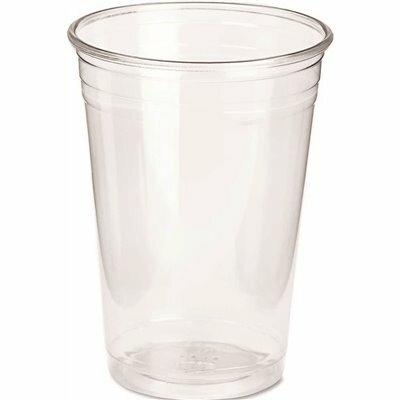 DIXIE 10 OZ. CLEAR PET PLASTIC COLD DRINK CUPS (500 PER CARTON)