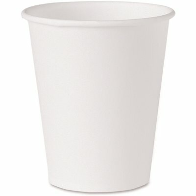SOLO 4 OZ. WHITE PAPER WATER CUPS (100 PER PACK)