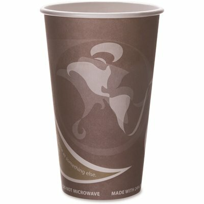 ECO-PRODUCTS 16 OZ. 24% PCF PURPLE HOT DRINK CUPS (50 PER PACK)