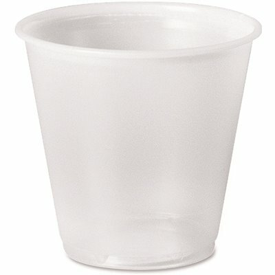 SOLO 3 OZ. TRANSLUCENT PLASTIC COLD DRINK CUPS (100 PER PACK)