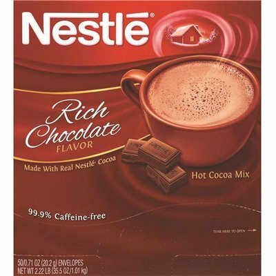 NESTLE 0.71 OZ. CHOCOLATE INSTANT HOT COCOA MIX (50 PER BOX)