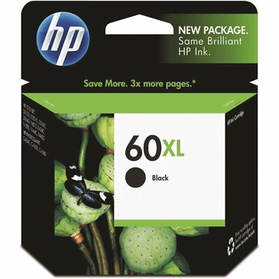 HP (HP 60XL) INK 600 PAGE-YIELD IN BLACK