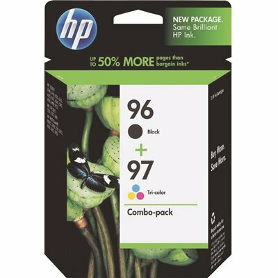 HP 860 PAGE-YIELD INK CARTRIDGE, BLACK/TRICOLOR (2-PACK)