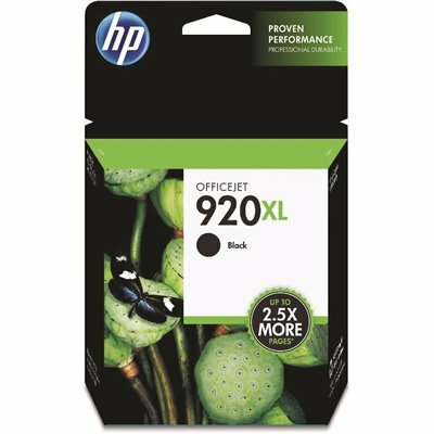 HP (HP 920XL) HIGH-YIELD INK 1200 PAGE-YIELD IN BLACK