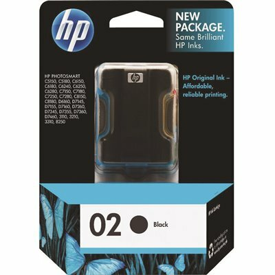 HP (HP 02) INK 660 PAGE-YIELD IN BLACK