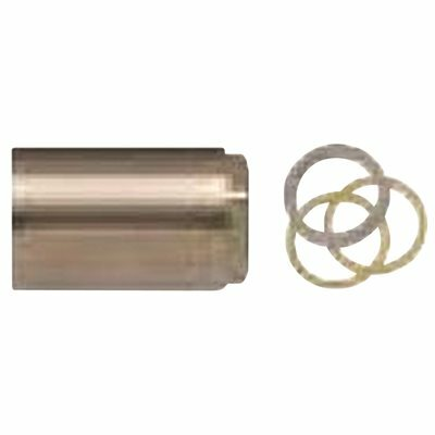 BRASSCRAFT 2 IN. 1-HANDLE TUB AND SHOWER FAUCET STEM RETAINER NUT FOR MIXET FAUCETS IN PVD SATIN NICKEL - BRASSCRAFT PART #: SWD0453