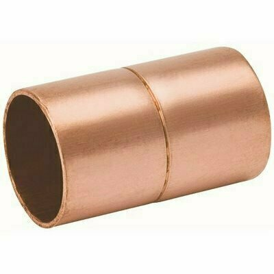 MUELLER STREAMLINE 5/8 IN. COPPER COUPLING WITH STOP