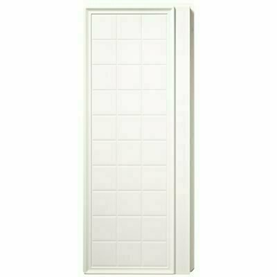 STERLING ENSEMBLE 35-1/4 IN. X 72-1/2 IN. 2-PIECE DIRECT-TO-STUD ALCOVE SHOWER END WALL SET IN WHITE