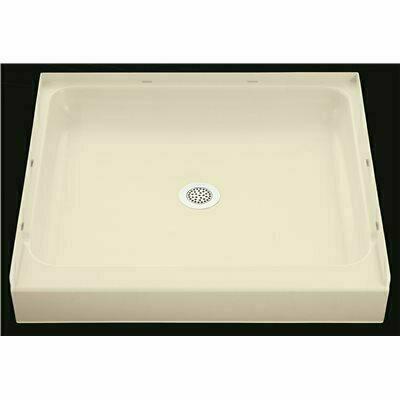STERLING ENSEMBLE 48 IN. X 34 IN. SINGLE THRESHOLD SHOWER FLOOR IN WHITE - STERLING PART #: 72121100-0