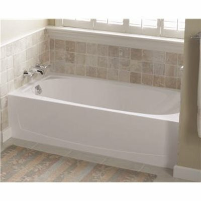 STERLING PERFORMA 5 FT. LEFT DRAIN RECTANGULAR ALCOVE BATHTUB IN WHITE