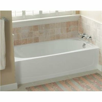 STERLING PERFORMA 5 FT. RIGHT DRAIN RECTANGULAR ALCOVE BATHTUB IN WHITE