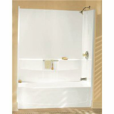 STERLING PERFORMA 60 IN. X 30 IN. X 60-1/4 IN. 3-PIECE TUB AND SHOWER WALL SET IN WHITE - STERLING PART #: 71044100-0