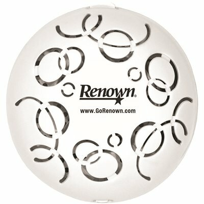 RENOWN EASY FRESH SPICED APPLE DEODORANT DISPENSER COVER WITH BATTERY AUTOMATIC AIR FRESHENER REFILL