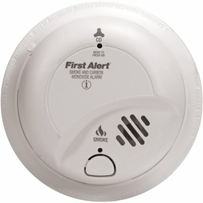 FIRST ALERT COMBINATION SMOKE AND CARBON MONOXIDE ALARM WITH 9-VOLT BATTERY