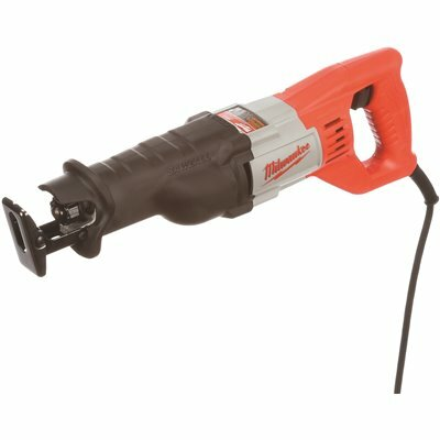 MILWAUKEE 12 AMP 3/4 IN. STROKE SAWZALL RECIPROCATING SAW WITH HARD CASE - MILWAUKEE PART #: 6509-31
