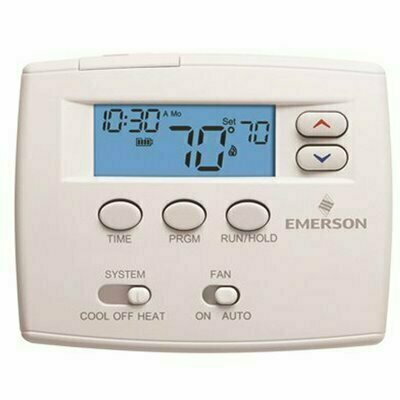 EMERSON 1-DAY PROGRAMMABLE THERMOSTAT - EMERSON PART #: 1F80-0224