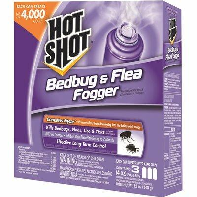 HOT SHOT BEDBUG AND FLEA FOGGER (3-PACK) - HOT SHOT PART #: HG-95764-1