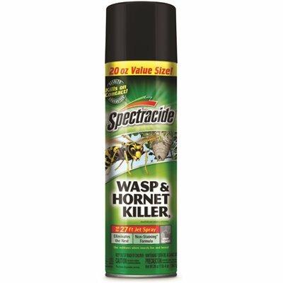 SPECTRACIDE 20 OZ. WASP AND HORNET AEROSOL SPRAY KILLER - SPECTRACIDE PART #: HG-95715-3
