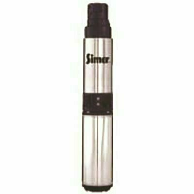 SIMER 4 IN. SUBMERSIBLE WELL PUMP 3/4 HP, 10 GPM - PENTAIR PART #: 2855G