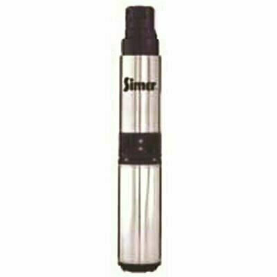 SIMER 4 IN. SUBMERSIBLE WELL PUMP 1 HP, 10 GPM - PENTAIR PART #: 2860G