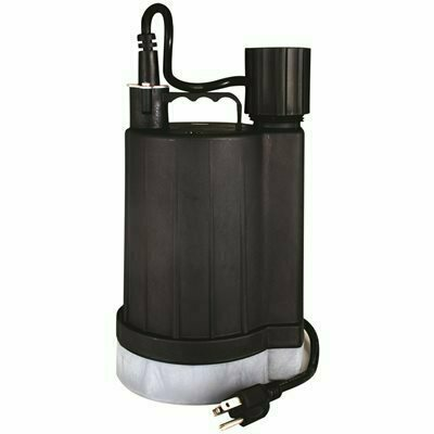 ZOELLER N42 0.167 HP FLOOR SUCKER II SUMP/BACKUP PUMP - ZOELLER PART #: 42-0022