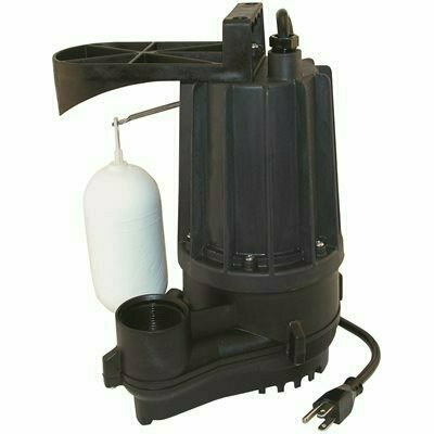 ZOELLER M72 .5 HP SUBMERSIBLE AUTOMATIC PUMP FOR DEWATERING - ZOELLER PART #: 72-0031
