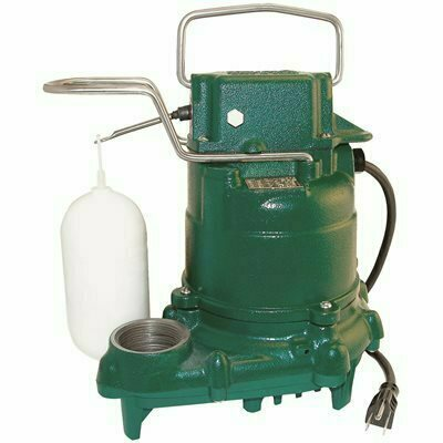 ZOELLER M53 MIGHTY-MATE .3 HP SUBMERSIBLE AUTOMATIC PUMP - ZOELLER PART #: 53-0075
