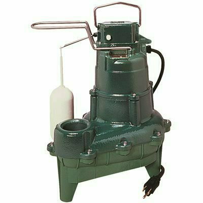 ZOELLER M264 .4 HP SUBMERSIBLE SEWAGE OR EFFLUENT OR DEWATERING AUTOMATIC PUMP - ZOELLER PART #: 264-0033