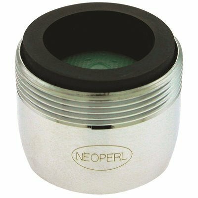 PCA CASCADE SLC 1.5 GPM 15/16 IN. 27 X 55/64 IN. 27 IN. REGULAR DUAL THREAD FAUCET AERATOR CHROME - NEOPERL PART #: 5406805