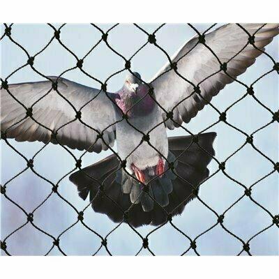 BIRD-X 25 FT. X 50 FT. HEAVY-DUTY BIRD NETTING - BIRD-X PART #: NET-PE-25-50