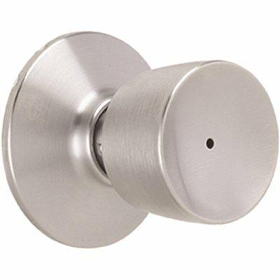 SCHLAGE BELL PRIVACY KNOB, SATIN CHROME - SCHLAGE PART #: F40 BEL 626