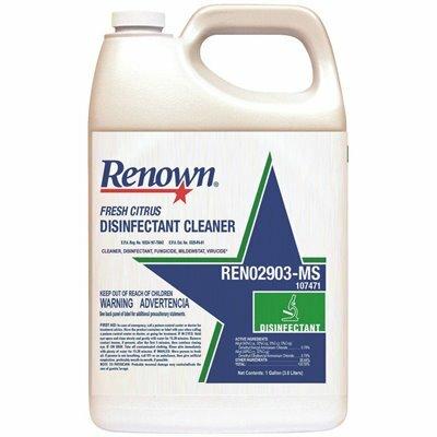 RENOWN 128 OZ. FRESH CITRUS DISINFECTANT CLEANER - RENOWN PART #: 111472